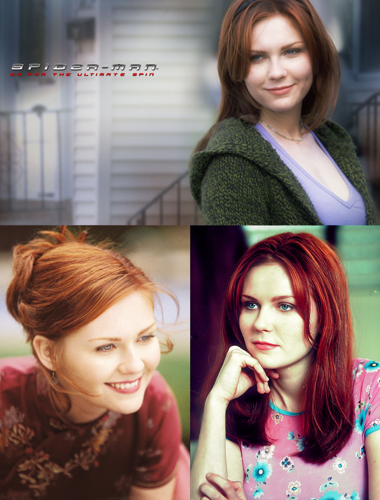 Kirsten Dunst as Mary Jane - Spider-Man 2002