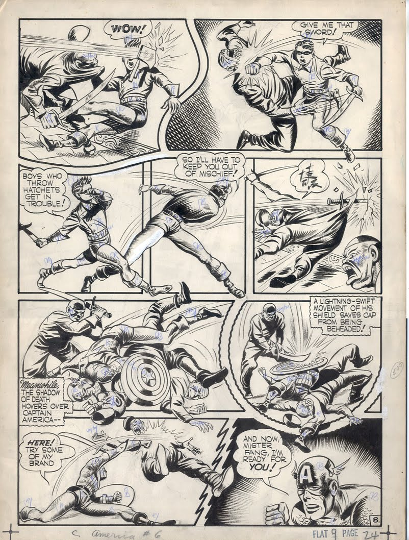 Captain America Comics #6 - Page 8
