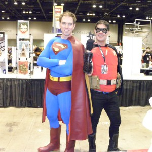 Superman and Robin