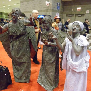 Weeping Angels from Dr. Who