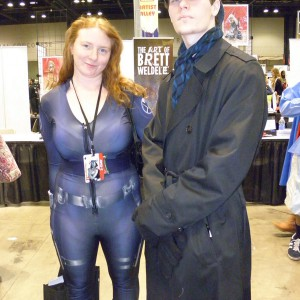 Black Widow and Sherlock