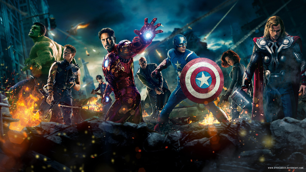 The Avengers - $1 Billion In Global Box Office Grosses.