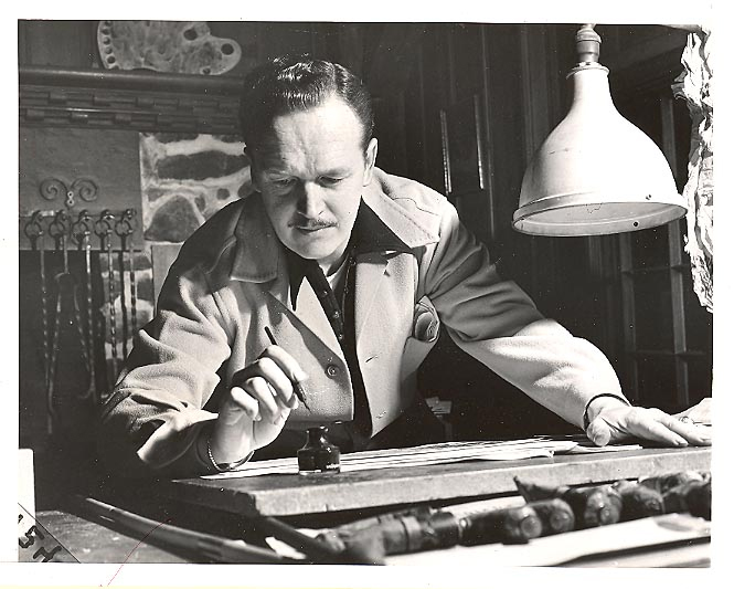Alex Raymond 1949