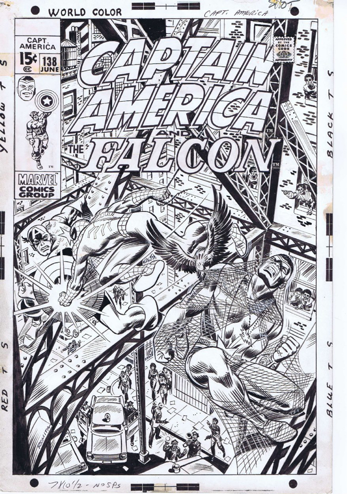 Captain America - June 1971