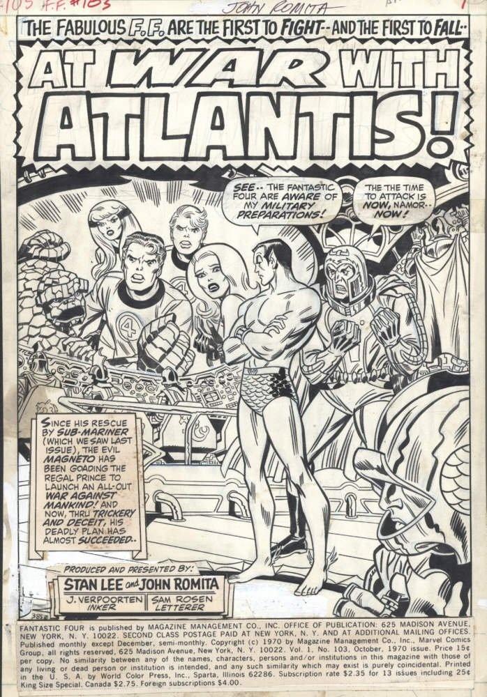 Fantastic Four 103 - October 1970