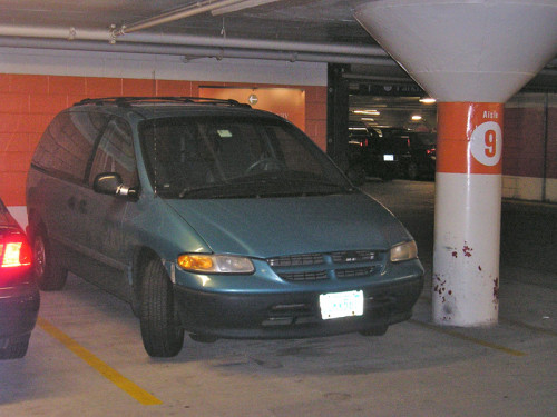 The Keefemobile at the convention - circa 2010.