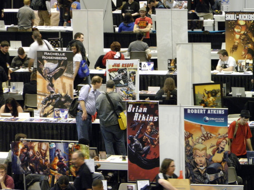 Artists Alley - My new banner.