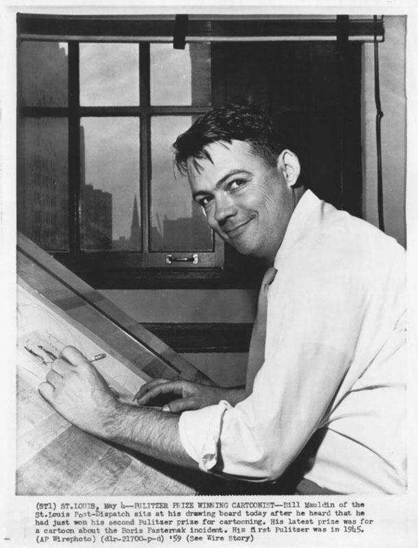 Bill Mauldin - 1959