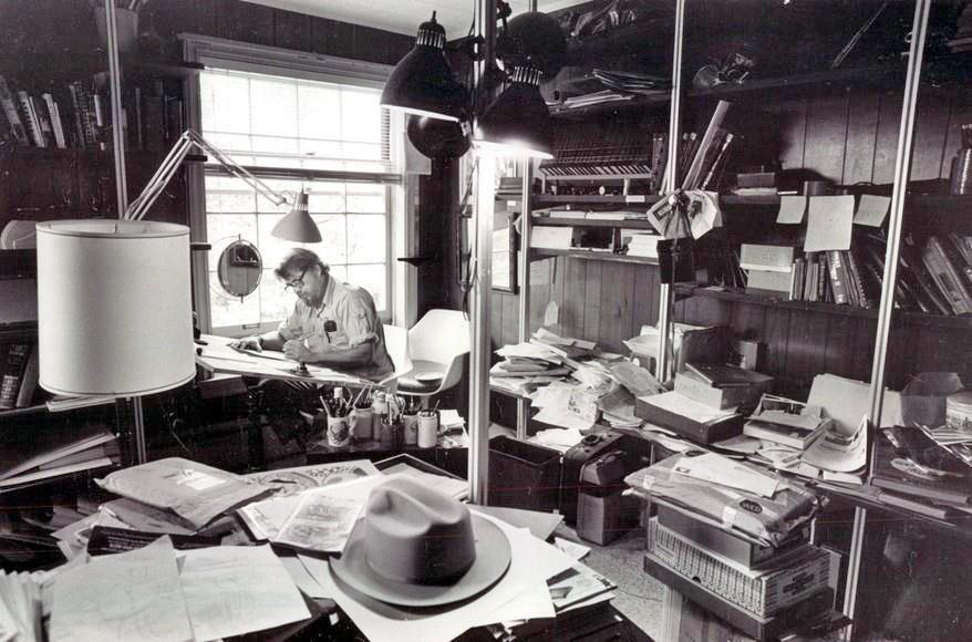 Bill Maudlin - In the studio.