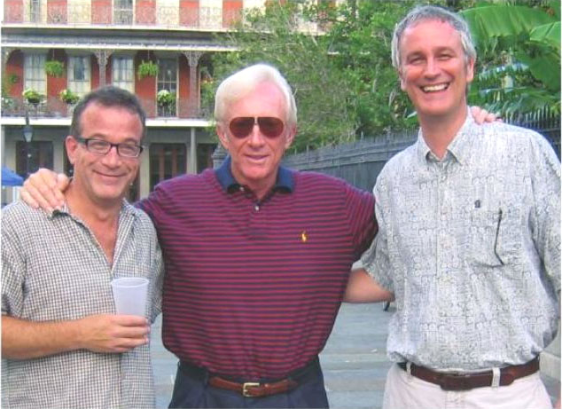 The Blondie team: Frank Cummings, Dean Young and John Marshall.