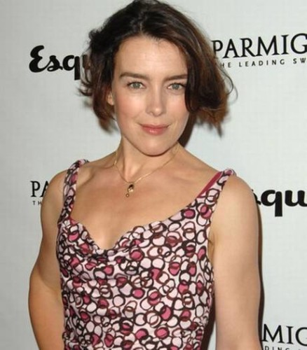 Olivia Williams as the no-nonsense Sally.