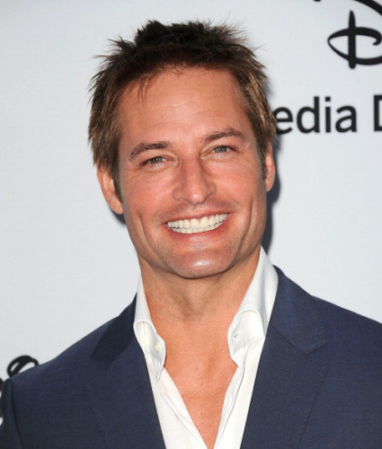 Josh Holloway as Ted, the love of her life who sometimes can't totally be trusted.