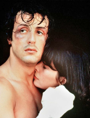 A view most clearly expressed in the first Rocky film - not so much in the endless sequels and remakes that followed...