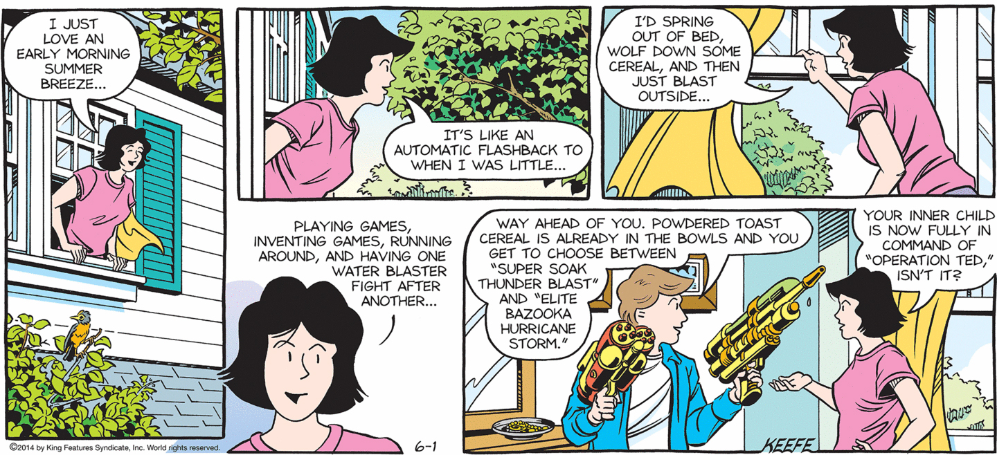 Sally Forth - June 1, 2014