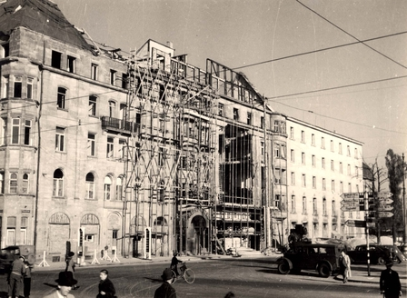 Grand Hotel - Nuremberg, Germany, 1945-1946.