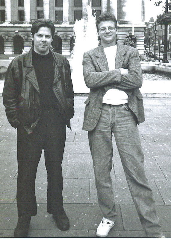 Dave Sim and Gerhard (Cerebus)