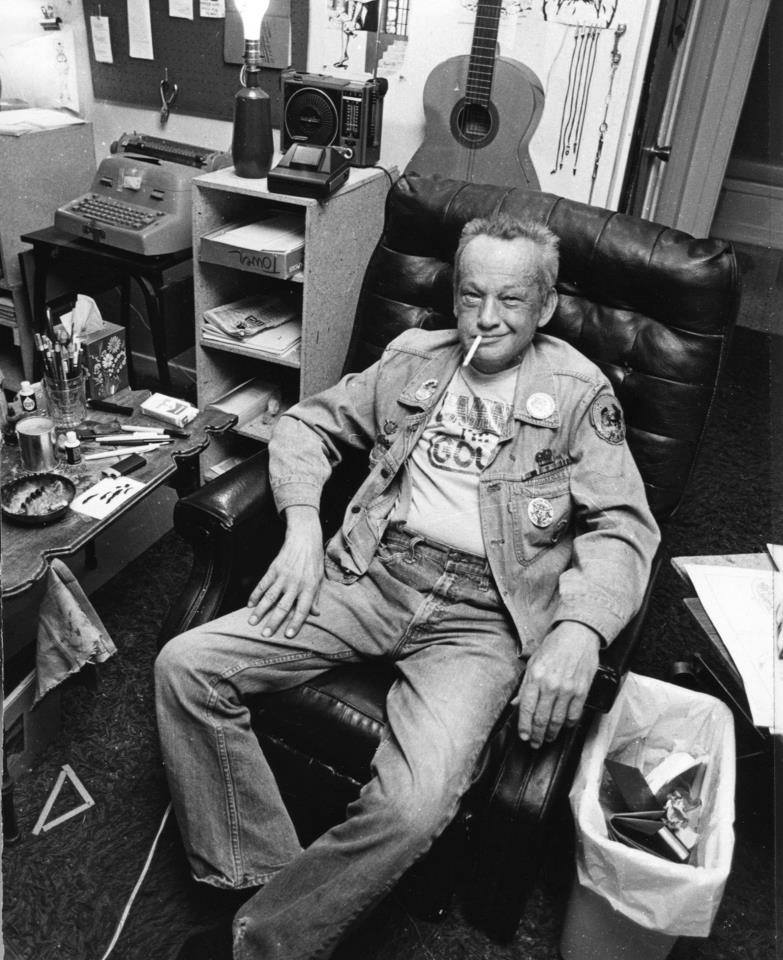 Wally Wood (EC Comics, Mad Magazine)