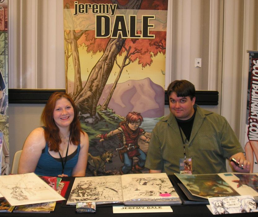 Jeremy Dale with wife, Kelly.
