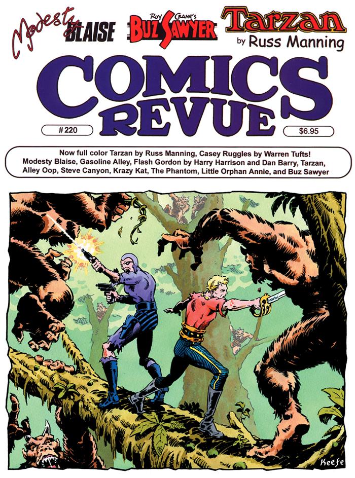 Comics Revue #220 - 2004