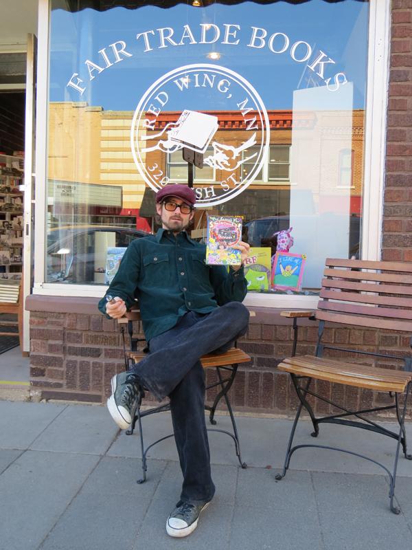 Joshua Schaefer of Fair Trade Books