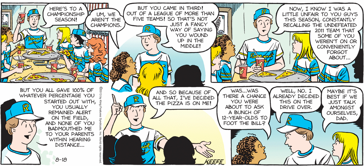 Sally Forth - August 18 2013