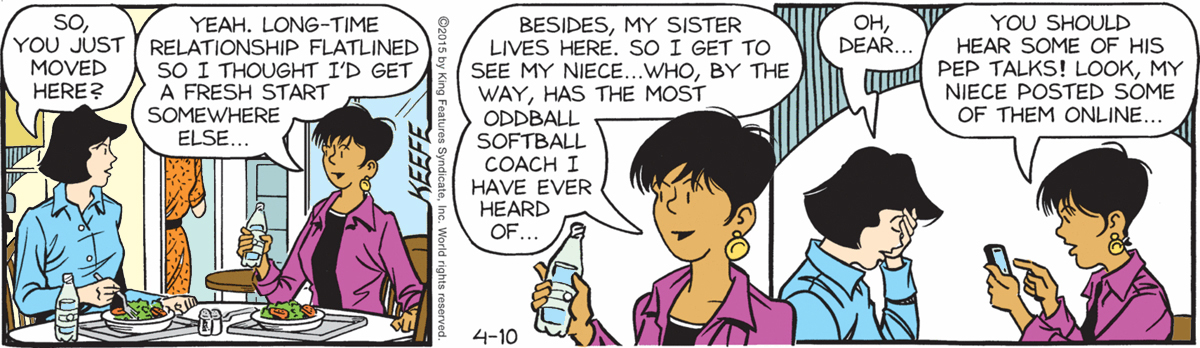Sally Forth - April 10, 2015