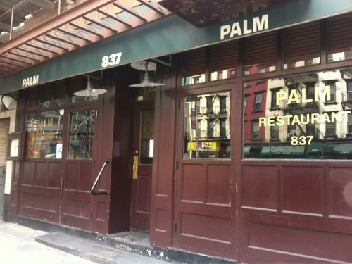 Along With Restaurants Like The Now Defunct Pen And Pencil Another Steakhouse Where Cartoonists Hung Out Palm Was Part Of New York S Legendary Steak