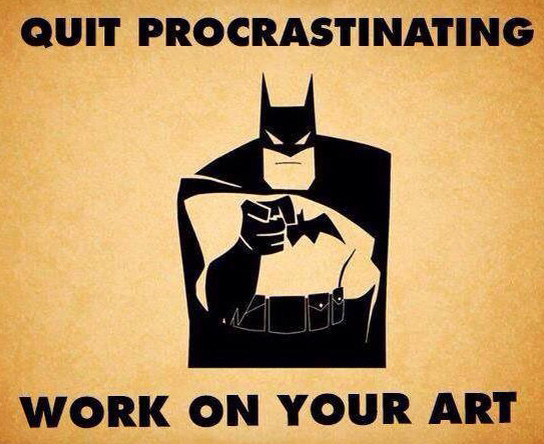 procrastination.batman