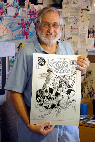Jose Delbo - 2011 Pic by Andrew Satterfield - Cincinnati Comic Expo