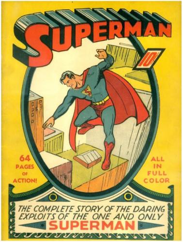 Superman #1 - 1939