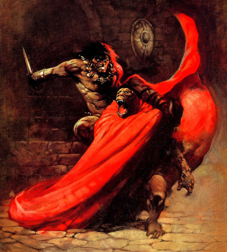 Conan by Frank Frazetta
