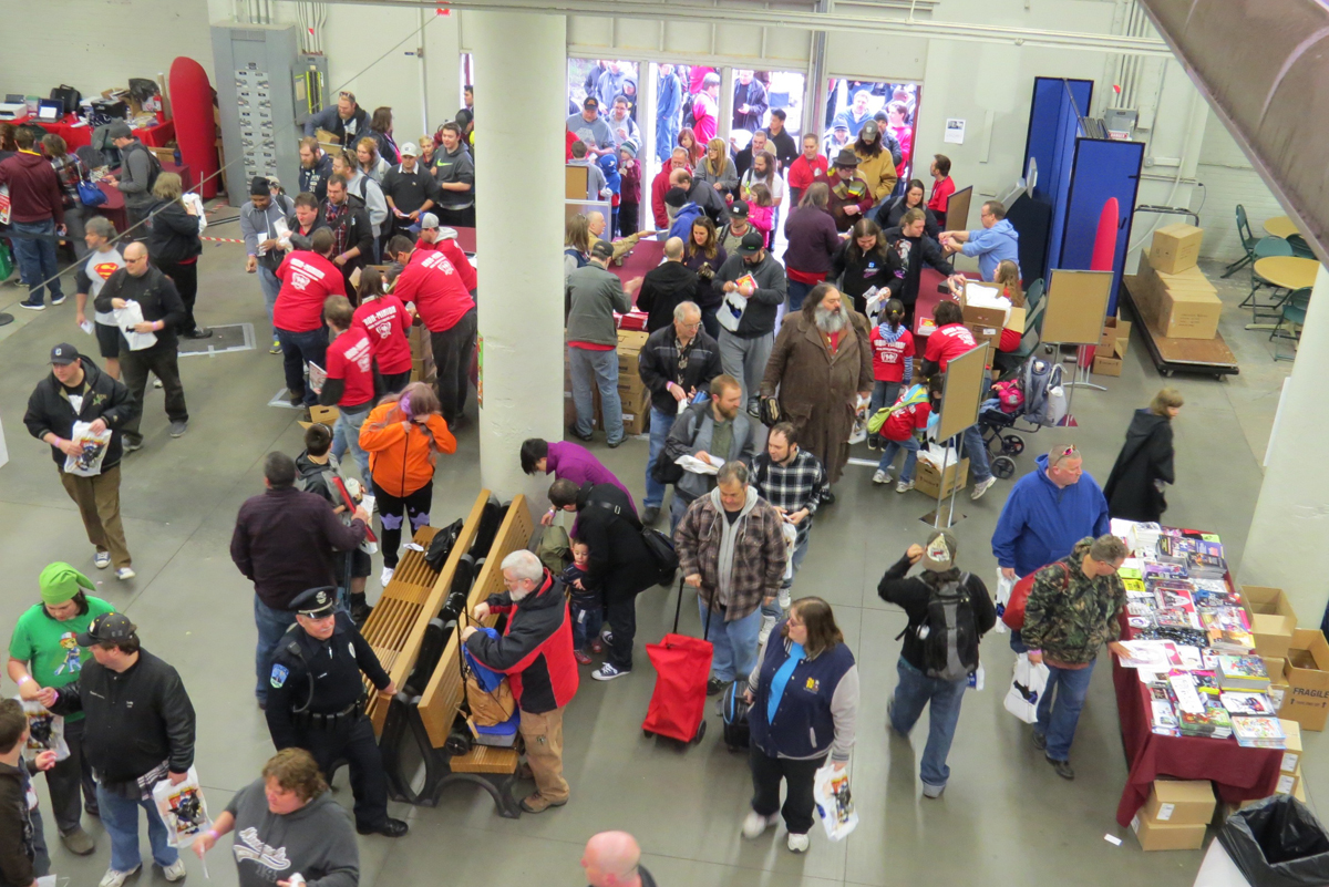 The doors open - the MSP ComiCon 2016 begins!