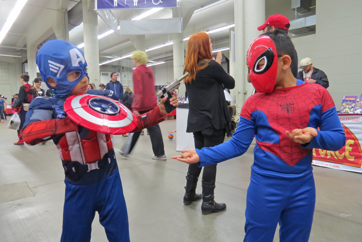 Cosplay at the MSP ComiCon 2016.