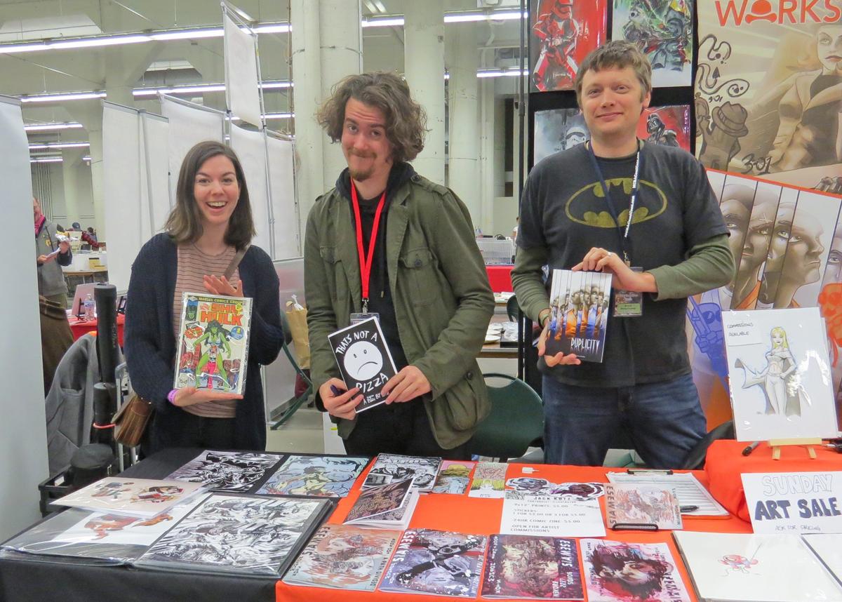 Hannah Blumenreich, Jack Kotz and Brock Beauchamp