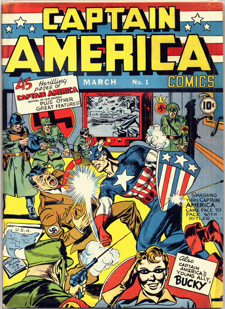 CAPTAIN AMERICA COMICS #1 Published: March 01, 1941