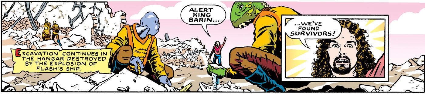 Flash Gordon top tier - November 24, 1996